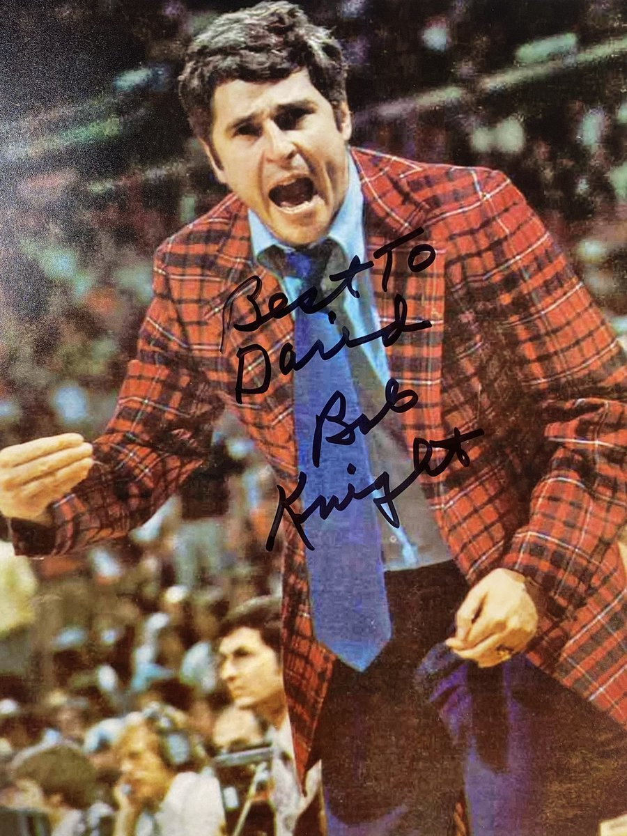 #TTMSUCCESS from BOB KNIGHT! SUBSCRIBE TO YOUTUBE CHANNEL FOR ALL TTM AND HOBBY RELATED VIDEOS:  #ttm #ttms #Indiana #basketball #hoosiers #ncaa #CollegeBasketball #marchmadness #finalfour #Autograph #Collectibles @ScoopTtm