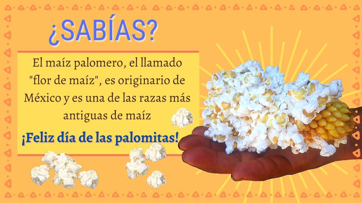 ¡Feliz #DíaDeLasPalomitas! 🍿🌽💛