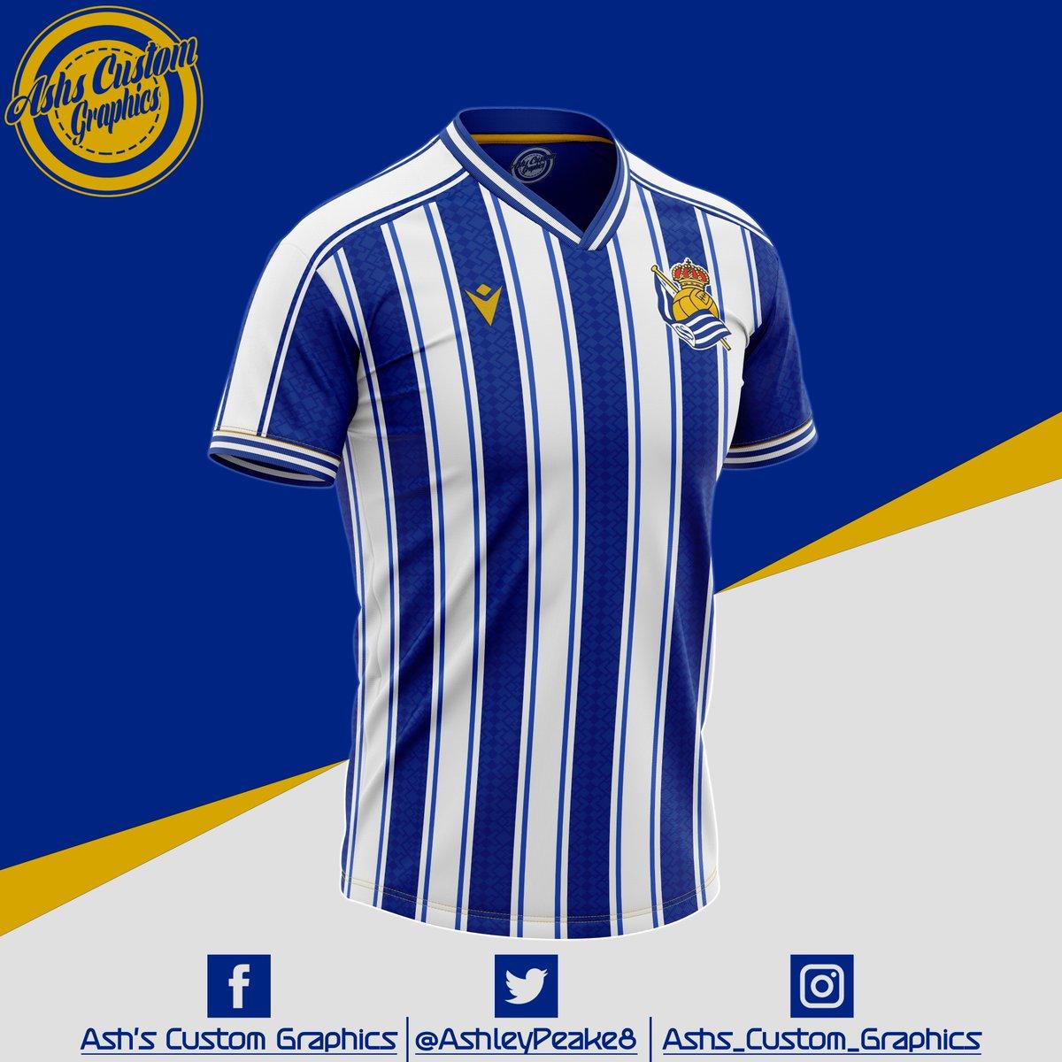 @RealSociedad x @RealSociedadFEM x @RealSociedadEN  @RealSociedadFR  @MacronSports @iqoniq   @21LVA @adnanjanuzaj @_nachomonreal @illarra4 @mikel10oyar   #RealSociedad #laliga #spain #macron #kitconcept #conceptkit #kitdesign #football #futbol #soccer #AurreraReala #footballshirt