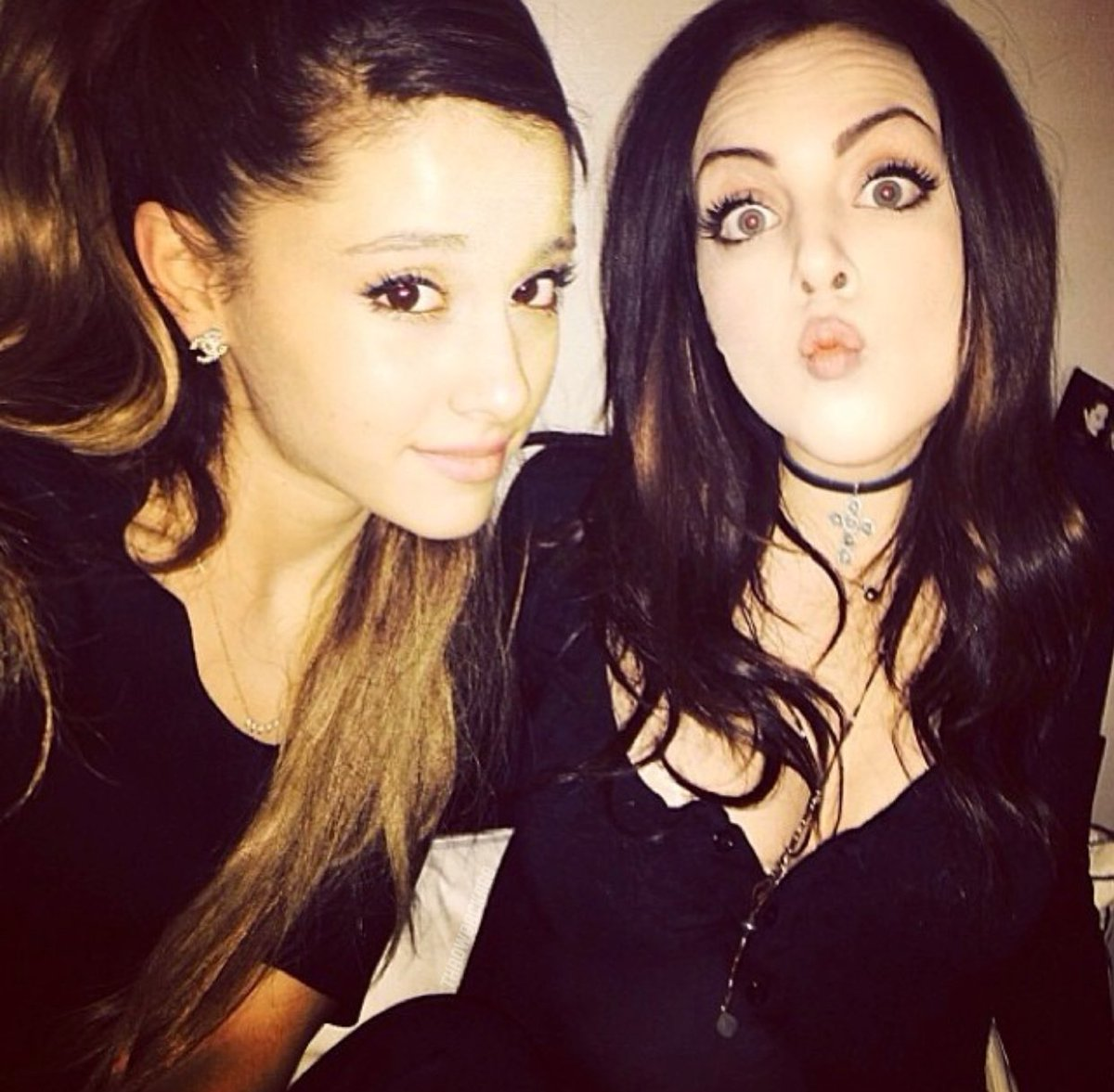 Replying to @throwbackagb: Ariana via Instagram 7 years ago today 'foreva' (19th January 2014)