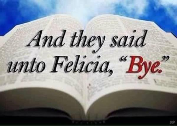 If you're ready for Trump and Melania to be out of office retweet this. #ByeFelicia