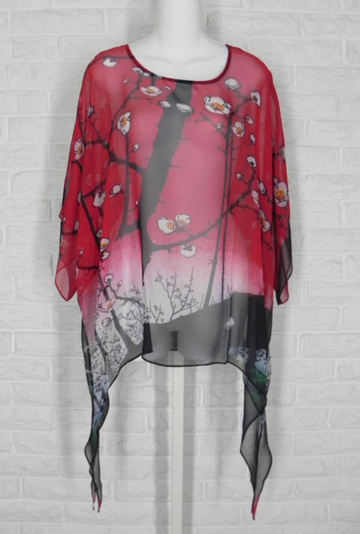 COCOON HOUSE Tunic Sheer Art to Wear 100 Views of Edo Print Silk Small Medium https://t.co/iXh9VjqHQ3 @eBay #shopsmall #clothing #fashion https://t.co/k3negQGgP6