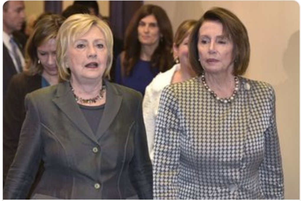 UGLY AND GUILTY FACES  Those women are nightmare... EVIL PEOPLE... #Clinton #TrumpTreason #Pelosi