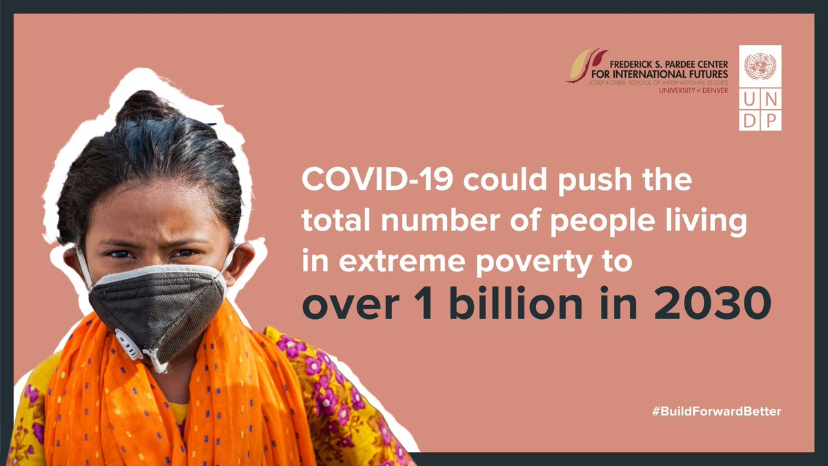 Our recent report on the impact of the pandemic on the #SDGs finds that over 1 billion people could be living in extreme poverty by 2030.   But integrated #SDG interventions could help exceed the development trajectory the world was on before #COVID19 ➡️