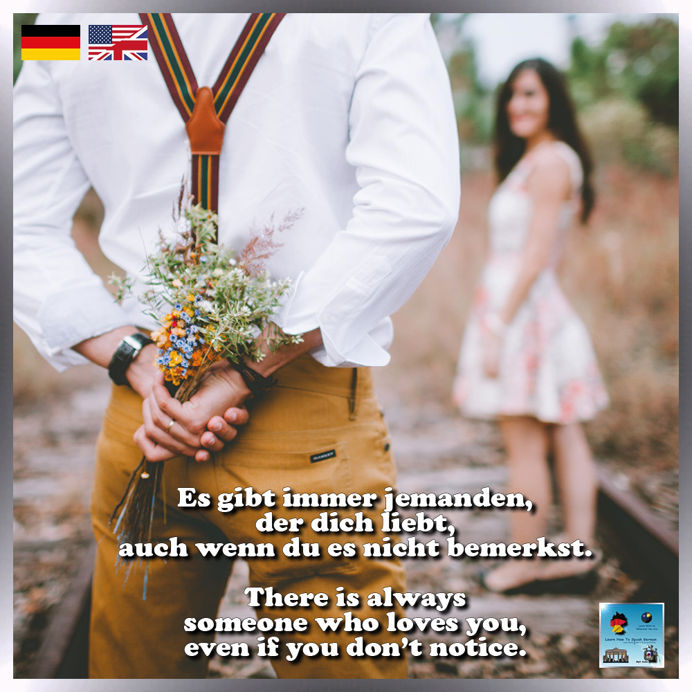 Let's get some #Tuesdaythoughts! It might not be romantic love, but there's always someone that loves you! Do you agree? 😉  🇩🇪 Es gibt immer jemanden, der dich liebt, auch wenn du es nicht bemerkst. ❤  🇺🇸 There is always someone who loves you, even if you don't notice. ❤