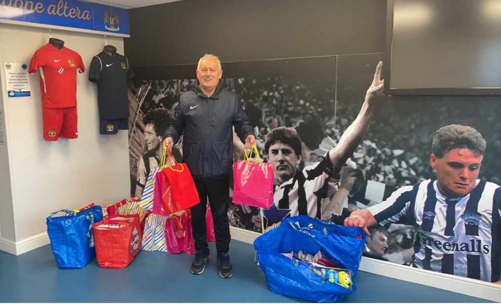This is a week for good news! Our Energy students have been working alongside @NU_Foundation @thekeytweets to give back to the local community. Students wanted those most in need to know they were thought of at Christmas and delivered 39 care packages to the local women's refuge.