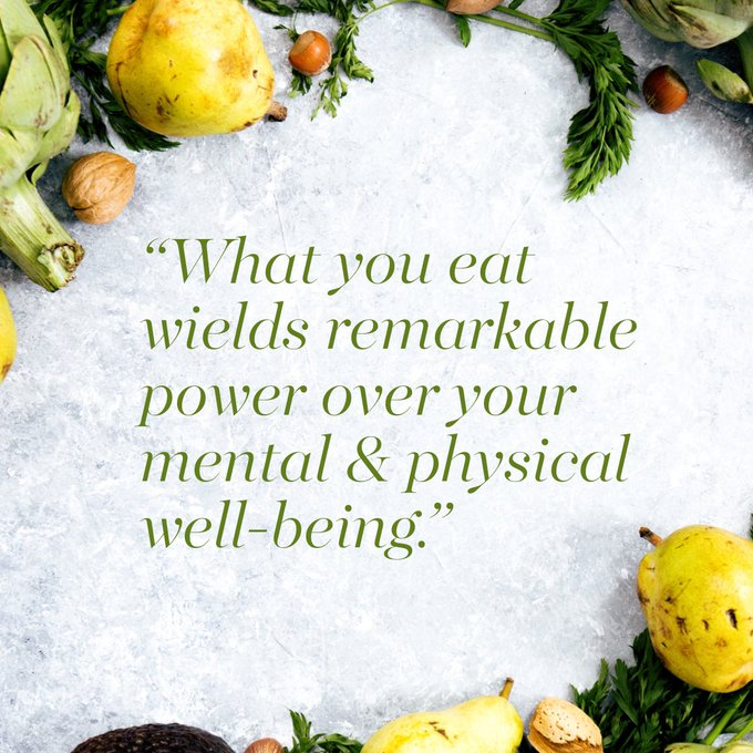 Food is for more than just energy and nutrients. It provides information to turn our genes on or off. It has medicinal effects. It enhances our immunity, hormones and body communication. It enhances your mind and emotional wellbeing. Choose what you eat wisely. #HealthyEating https://t.co/xDTMECeyCK