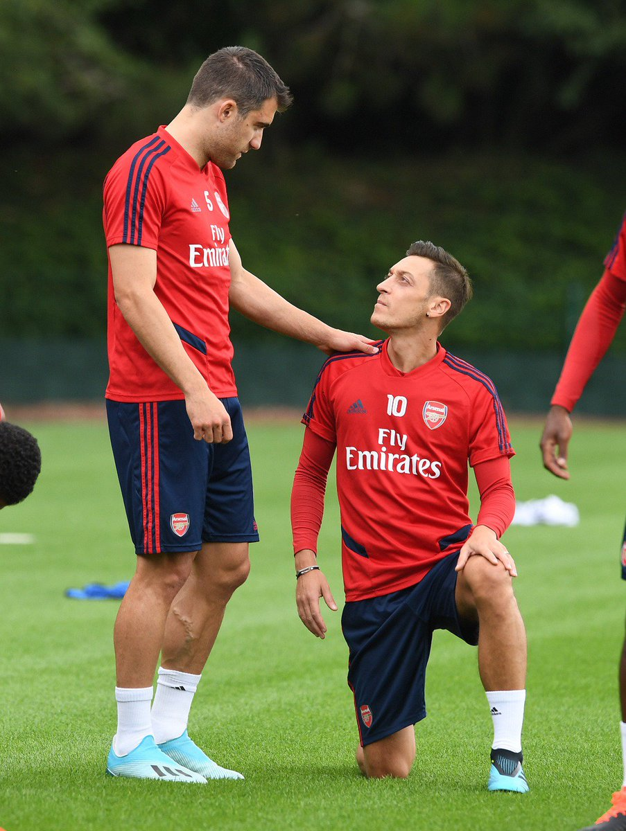 It's been a pleasure to play with you and get to know you bro. Good luck and best wishes for the future @MesutOzil1088! 💪
