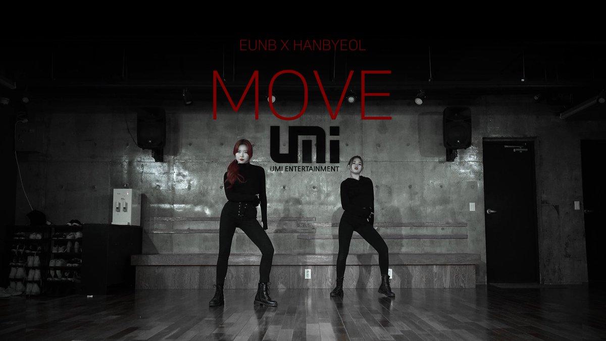 """🌟 – #EUNB e #HANBYEOL fizeram um dance cover de """"MOVE"""", do Taemin.    #프레셔스 #PRECIOUS @official_prcs #Taemin"""