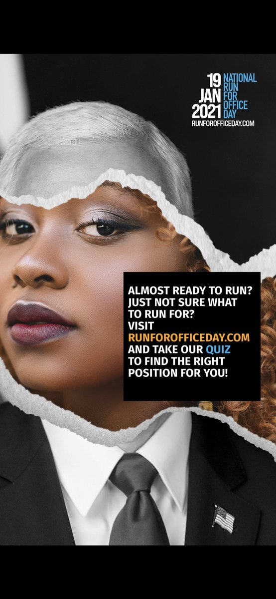 We know the stakes. We know the work that needs to be done. All we need is someone to lead. We need you. On #NationalRunforOfficeDay, take a chance and run for something.  @runforsomething