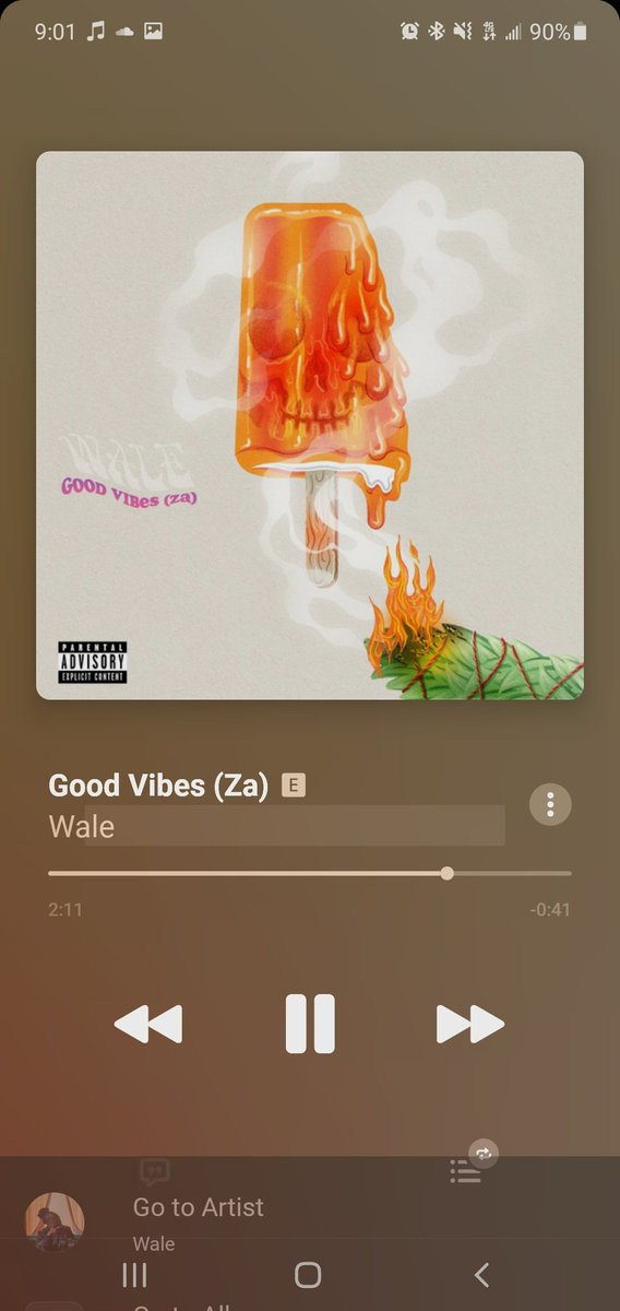 Shoutouts to @Wale for the new single  #GoodVibes. Good vibes only moving forward.  Don't forget to tune in this week #tuesdaymotivations  #tuesdayvibe  #Thanks4TheVibes