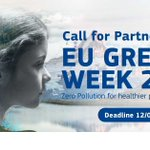 Image for the Tweet beginning: 🆕 The #EUGreenWeek 2021 will