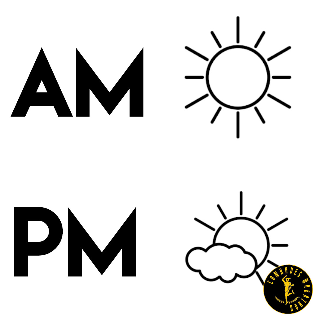 Morning vs afternoon: What is the best time to run?☀️🌤️  Are you an early riser or do you prefer to lace up your running shoes in the afternoon? Tell us in the comment section down below. 👇  #MorningRun #AfternoonRun #RunnersLife #RunHappy @ComradesRace https://t.co/SPzsm6v8Vz