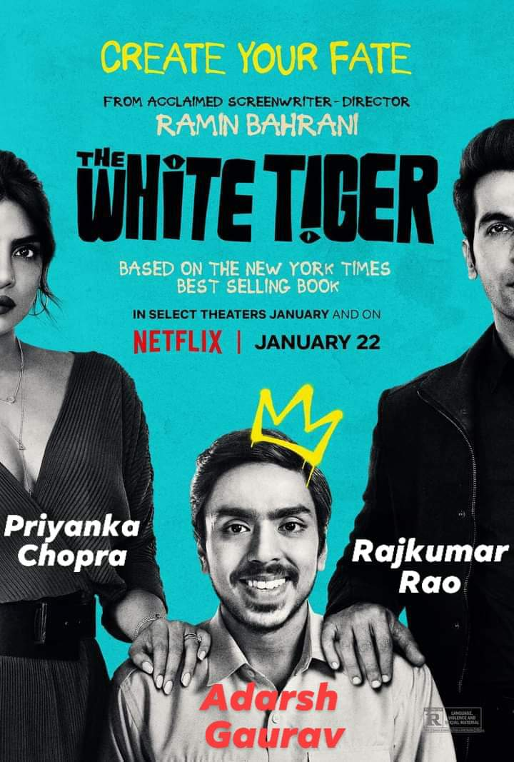 Best Supporting Actress for #priyankachopra for #TheWhiteTiger  , #goldenglobes #goldenglobes2021 #HFPA #Predictions @Variety @netflix @goldenglobes