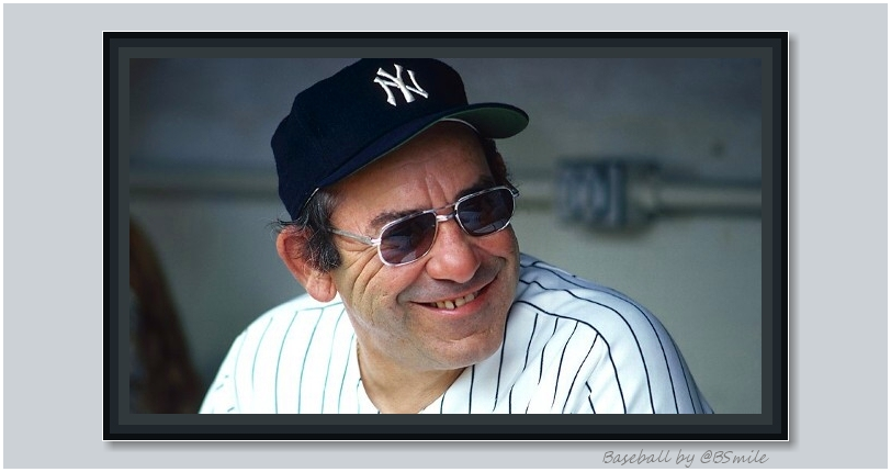 """If you can't imitate him, don't copy him."" ~ Baseball legend Yogi Berra #MLB #Yankees #TuesdayThoughts"