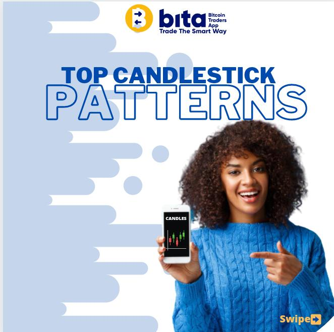 Top candlesticks patterns.  We make trading easy for you. Follow us to learn more.  #BiTA #Bitcoin #cryptocurrency #tradingpatterns #gold