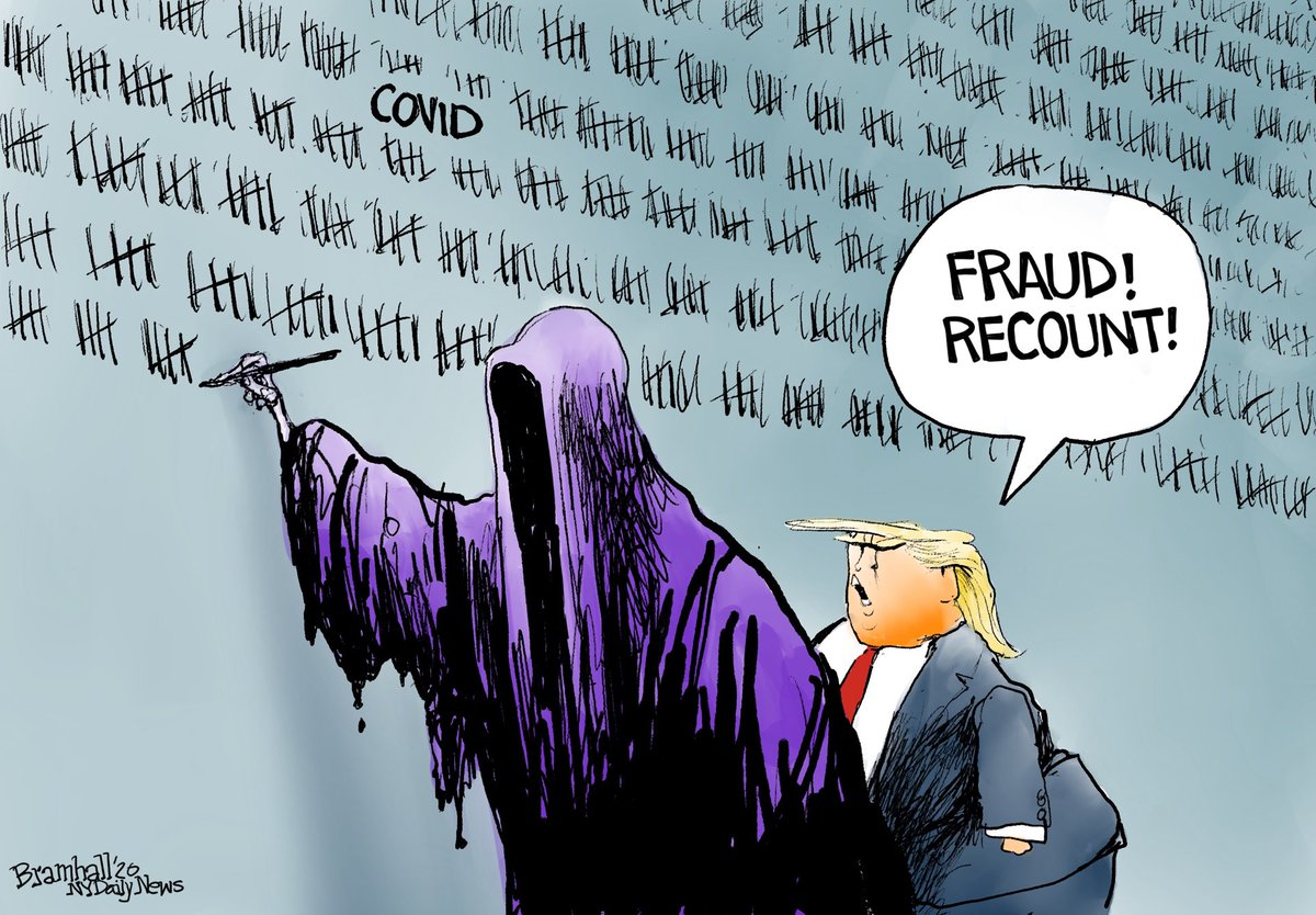 #COVID19 #TrumpFailedAmerica #ByeFelicia   Hard to believe that this terrible fact is covered in even greater scandals ... but ..  Donald Trump manages to leave office with well over 400,000 Americans having lost their lives under his watch!   #TrumpVirusDeathToll400K