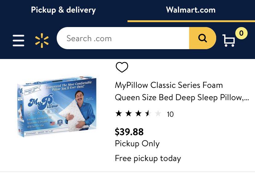 Hey @Walmart. Why you still selling My Insurrection Pillow‽ https://t.co/QTSkestrEI https://t.co/w7G4AcXOas