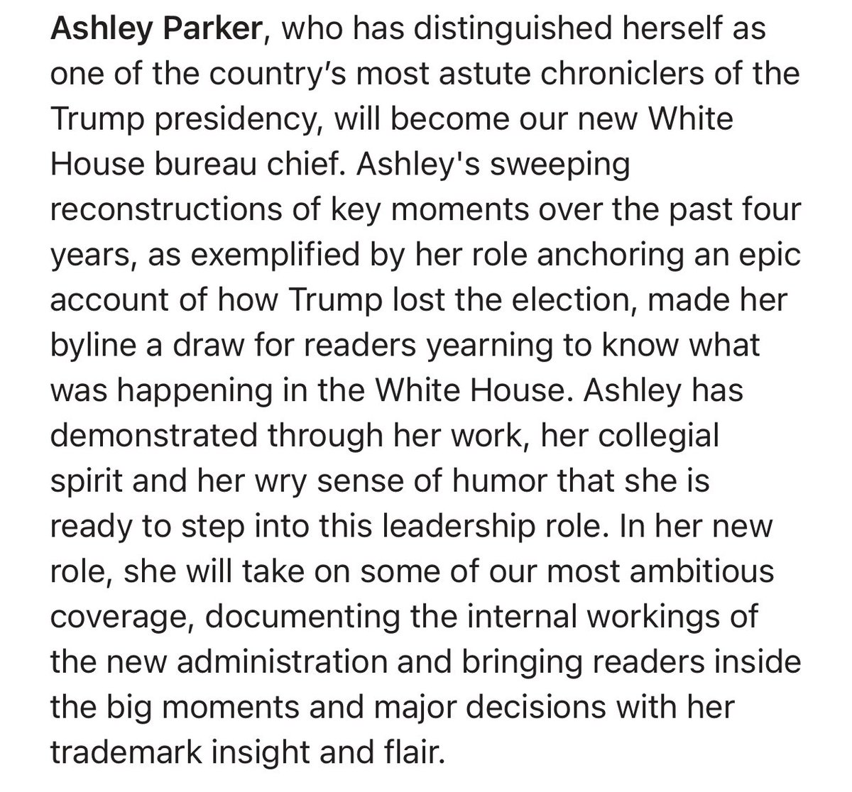 So excited to become the WaPo's new WH Buro Chief — filling some v big @PhilipRucker shoes, right down to the elaborate, color-coded (!) White House duty rotation Google doc. And #FF the rest of our awesome team 👇