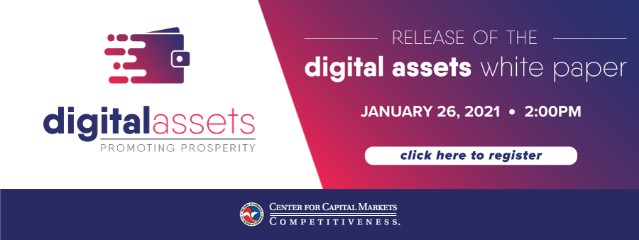 test Twitter Media - Join @USChamberCCMC  at 2p.m. ET on Tues, Jan 26, to learn about our latest report and hear from expert speakers and panelists discuss how the financial services regulatory regimes significantly impacts digital asset and related blockchain innovation. https://t.co/cgbLrIL4La https://t.co/9NCtSAn5zv
