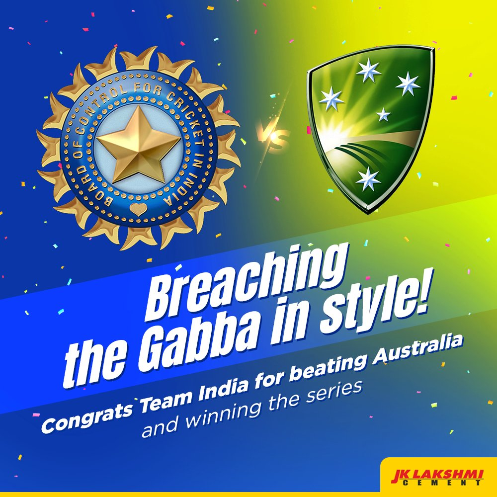 And that's what you call a truly memorable victory! With two fours and a wicket in the last over, it was more of a thriller than a cricket match. Superb performance by Team India as they defend the Border Gavaskar Trophy.  #AUSvsIND #AUSvINDtest #BorderGavaskar