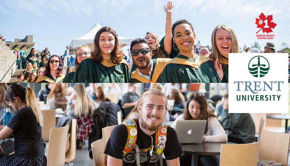 Trent International Scholarships and Awards at Trent University, Canada