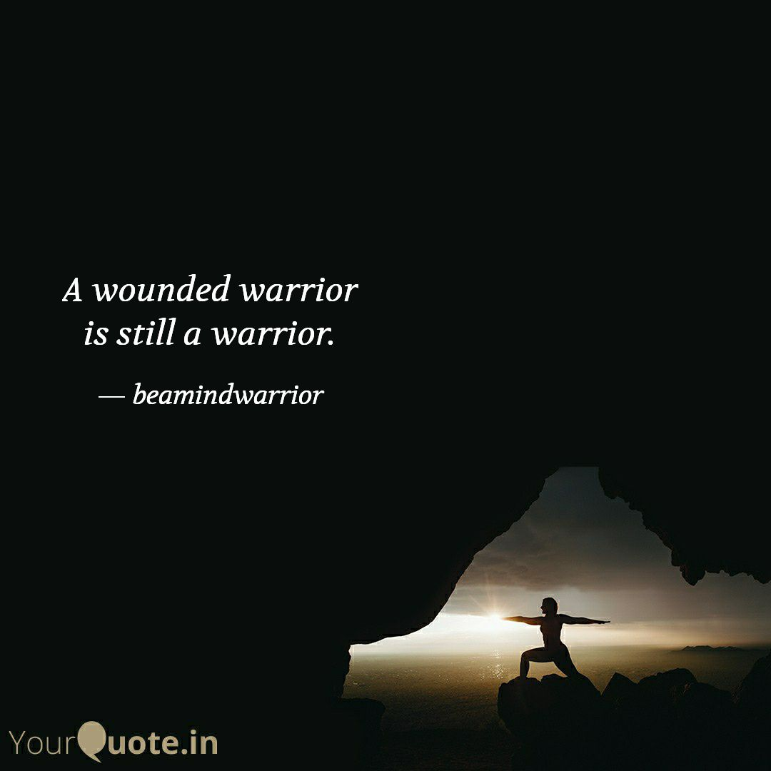 Focus less on your wounds and more on who you really are - A Warrior. . Your mind needs to be in your control, so that in tough times you don't forget who you are. #tuesdayvibe #tuesdaymotivations #NeverGiveUp #mindset #life #MotivationalQuotes #inspirational #selfcare #quotes