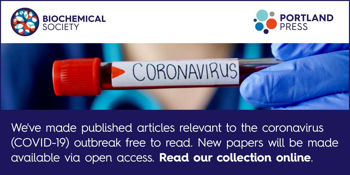 #EditorialPick from Bioscience Reports 'Structural assessment of SARS-CoV2 accessory protein ORF7a predicts LFA-1 and Mac-1 binding potential' part of our #Coronavirus collection #OpenAccess #Covid19  Find it online here: