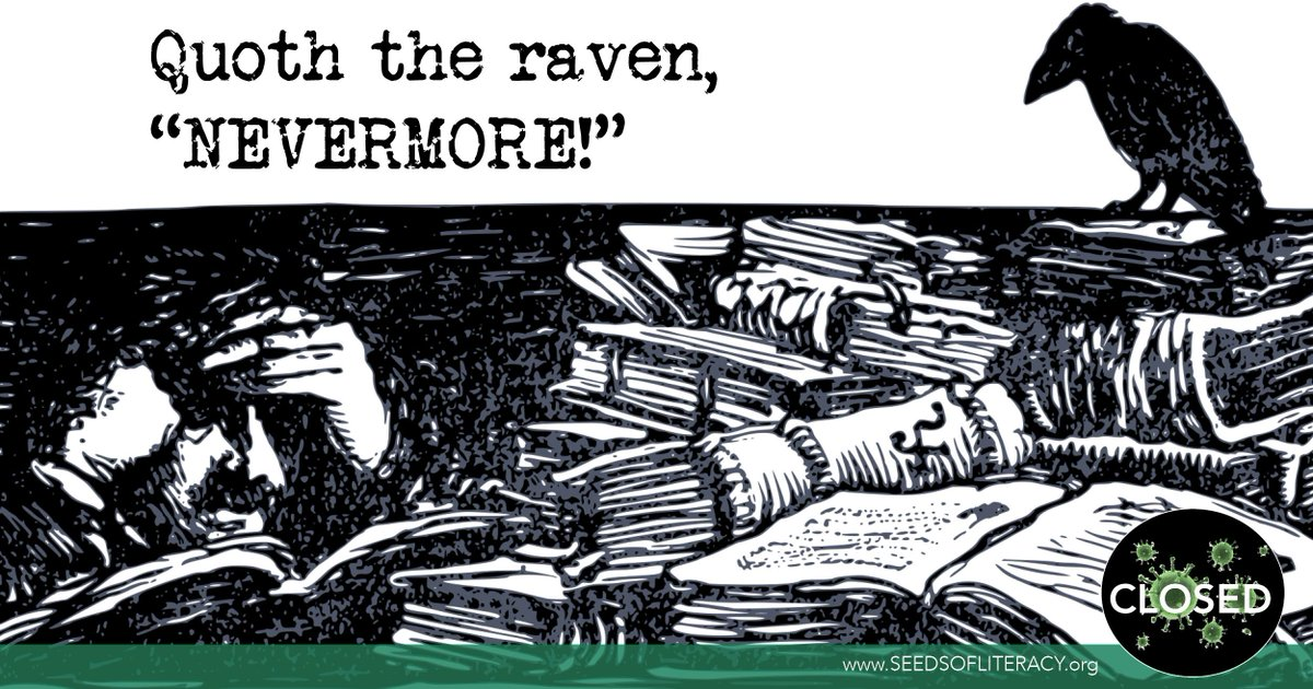 Happy Birthday (1809), #EdgarAllanPoe! Without Poe, we wouldn't have macabre classics such as The Raven, The Tell-Tale Heart, Annabel Lee, or The Cask of Amontillado.   #HBD #Literature #Poetry #AdultLiteracy