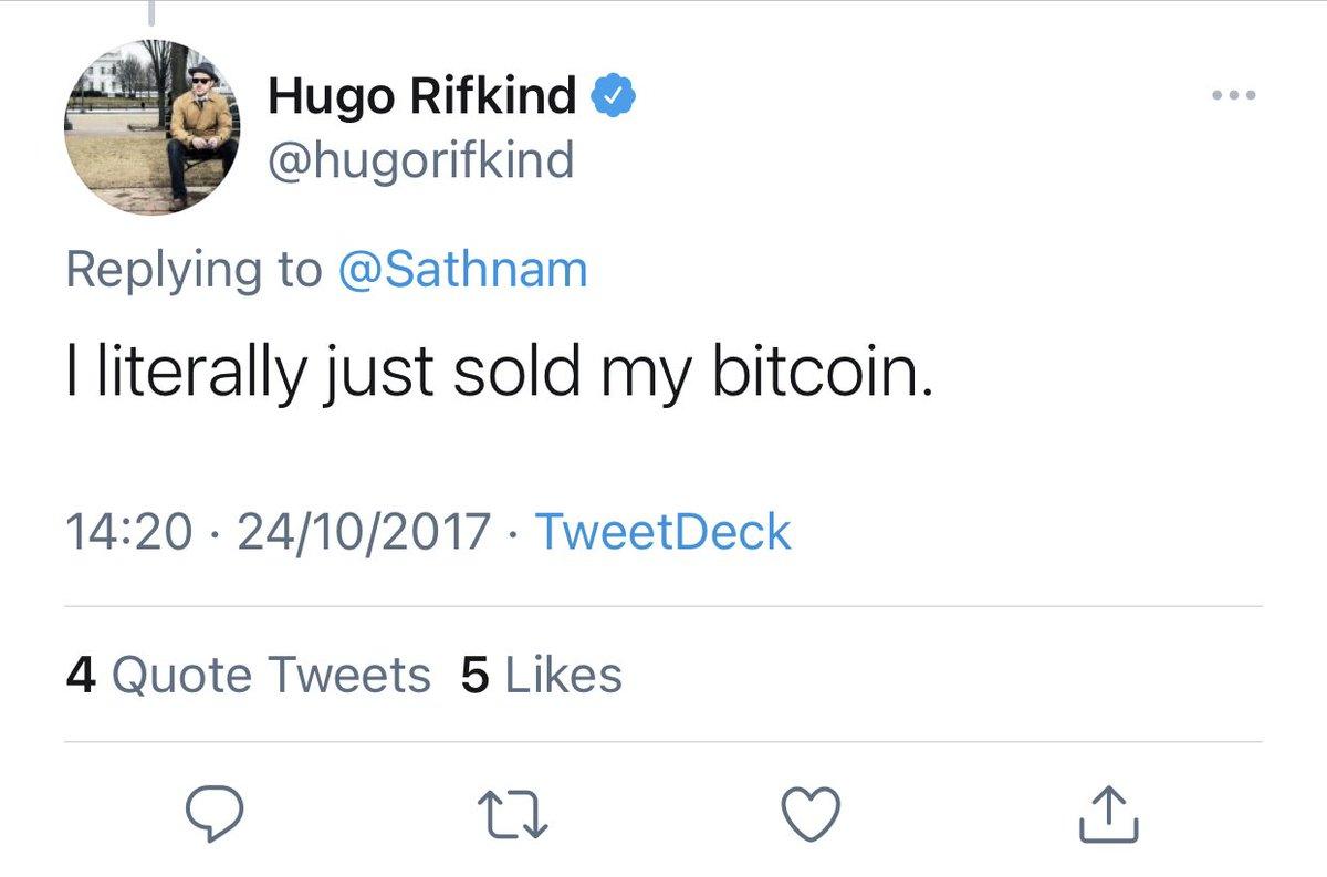 hugo rifkind bitcoins