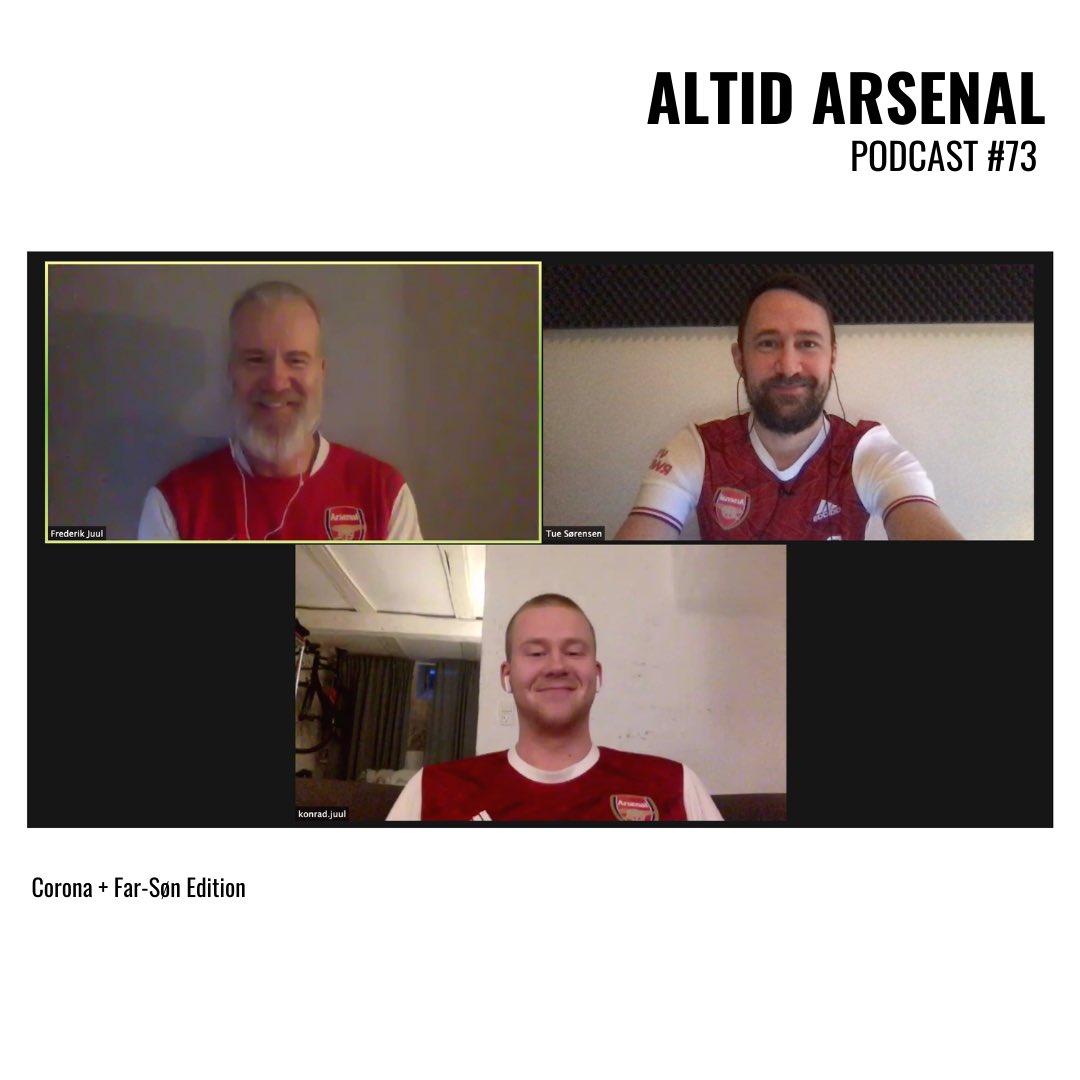 Gode Gunners-tider og (endnu) en god podcast til dig.😜  På programmet: 🆚 #ARSCRY  🆚 #ARSNEW  👋🏽 Farvel til Mesut Ozil  Gæster: @Frederikjuul og @juul_konrad.  Podcasten laves sammen med @ArsenalDenmark.  #AltidArsenal #ArsenalDenmark