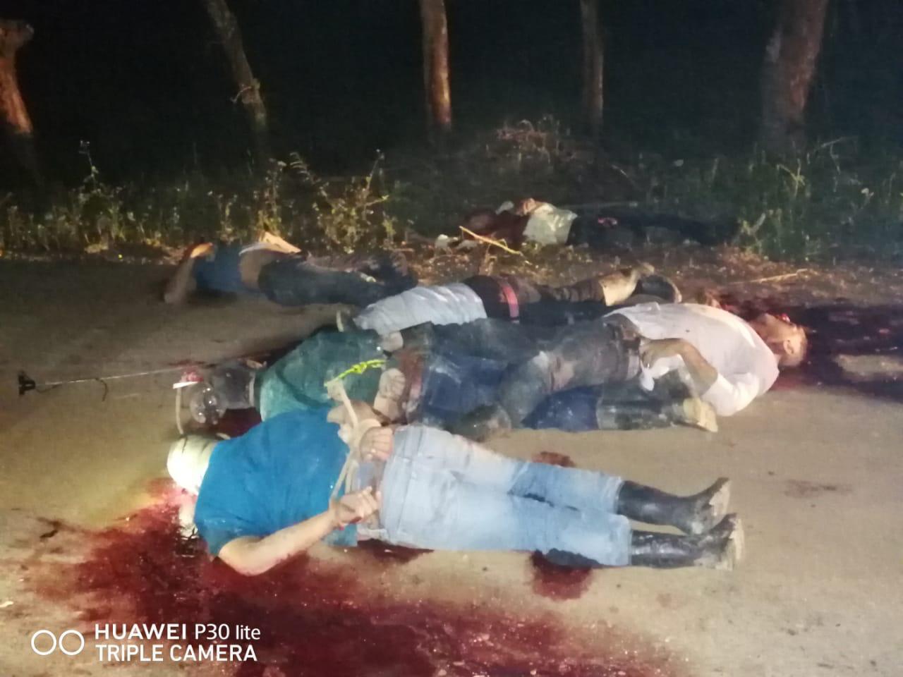 Hallan a 12 personas ejecutadas en Las Choapas, Veracruz, tras un largo enfrentamiento