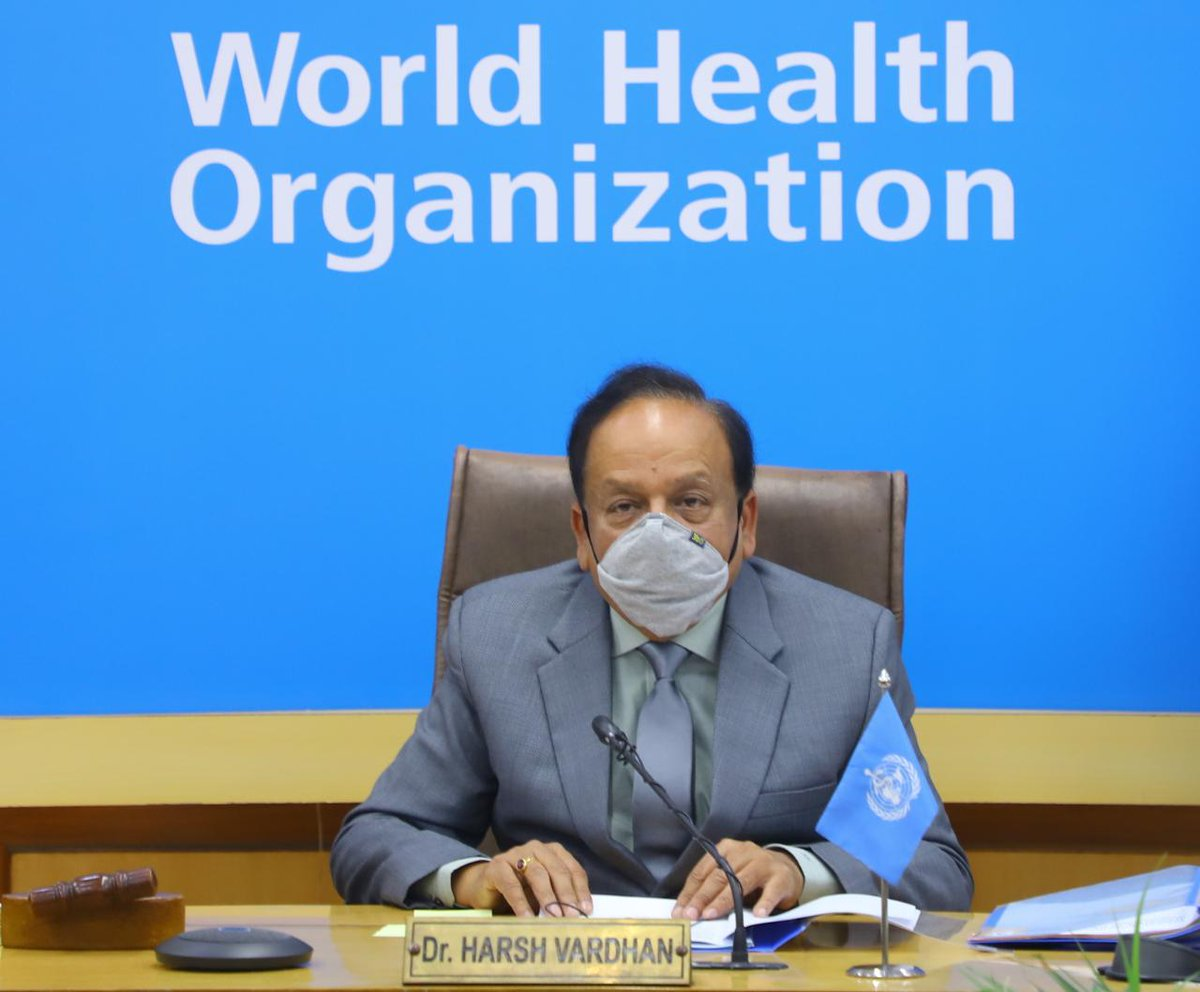 Participated in the panel meeting to select winners of @WHO Public Health Prizes & Awards.   The awards conferred by #WHO in collaboration with prominent foundations, recognise & reward major contributions by individuals & organisations which lead to health gains in countries.