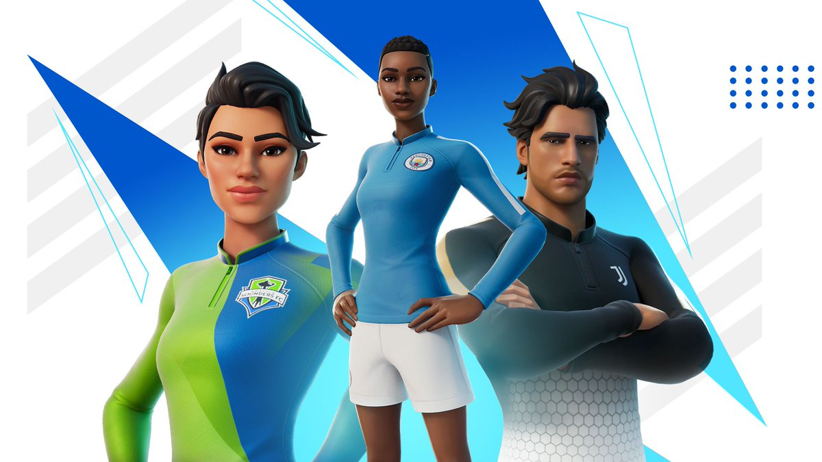 Fortnite's new soccer skins feature big teams like Manchester City and Juventus https://t.co/VmG1fMVqJE https://t.co/bcSBjiFzAy
