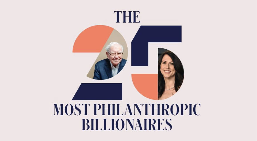 From Bill and Melinda Gates to Mackenzie Scott, the nation's most generous donors have given away a collective $149 billion in their lifetimes