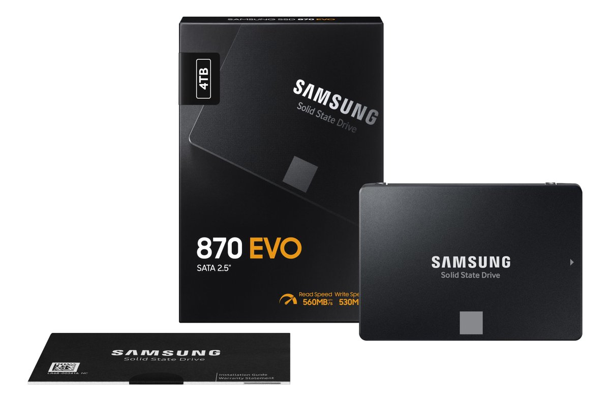Samsung's new 870 Evo SSD brings faster speeds, lower prices https://t.co/Eb5u4LXl4D https://t.co/ckCtLo37hJ