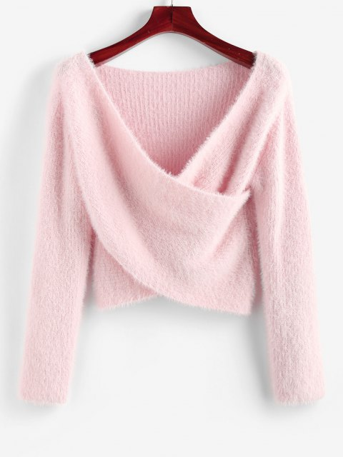 Shop this at ZAFUL & Save 17% off by USE CODE: 'ACVEC'.  HERE👉   🔍 ZAFUL Fuzzy Crossover Plunging Crop Sweater  #couponcode #discountcode #shopping #sale #StillDreamingOutNow #tuesdayvibe #Zaful #onlineshopping