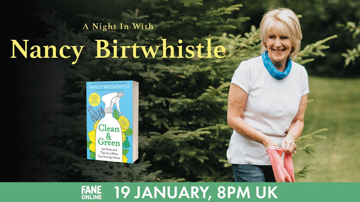 Tonight: @nancybbakes shares easy-to-find, eco-friendly kitchen cupboard staples which won't break the bank!  From turning ivy into a laundry detergent to naturally nurturing your leather, learn more in our stream tonight:  💚 #GBBO #BakeOff