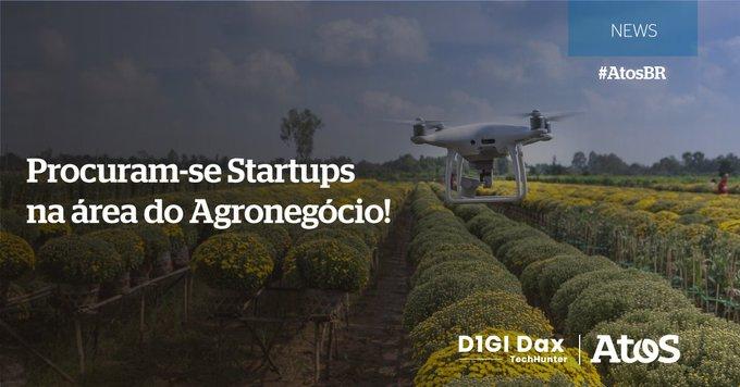 Estamos buscando soluções por meio de parcerias com startups voltadas ao setor de AgroBusiness...
