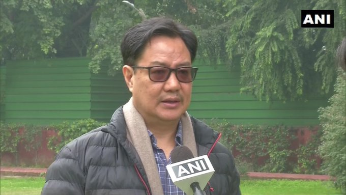 Union Sports Minister Kiren Rijiju (in file pic) given additional charge of Ministry of AYUSH during the hospitalisation and treatment of Union Minister Shripad Y Naik following a road accident https://t.co/JJA1s8iDj8