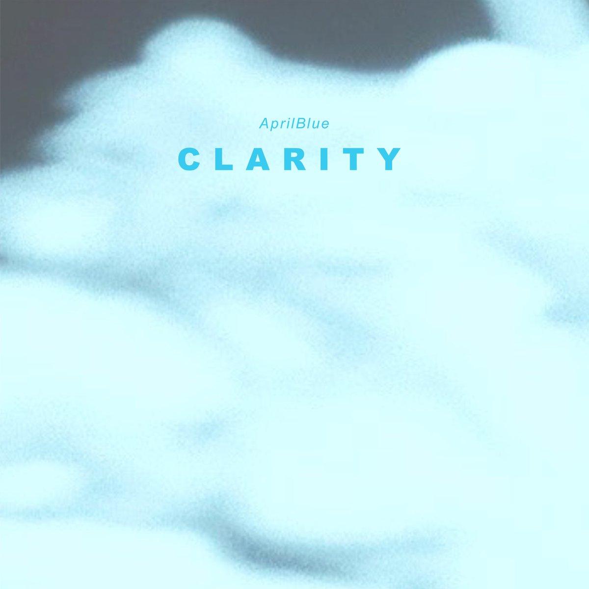 エイプリルブルーニューシングル「クラリティ」を、本日配信限定でリリースしました!イエローに続くセルフレコーディング楽曲で、疾走感のある切ないドリームポップに仕上がっています。