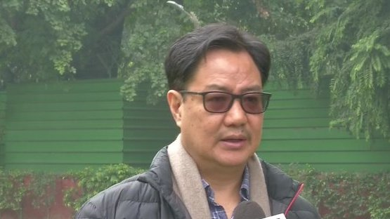 Union Sports Minister #KirenRijiju (in file pic) given additional charge of Ministry of AYUSH during the hospitalisation and treatment of Union Minister Shripad Y Naik following a road accident https://t.co/LsoGDiMjD2