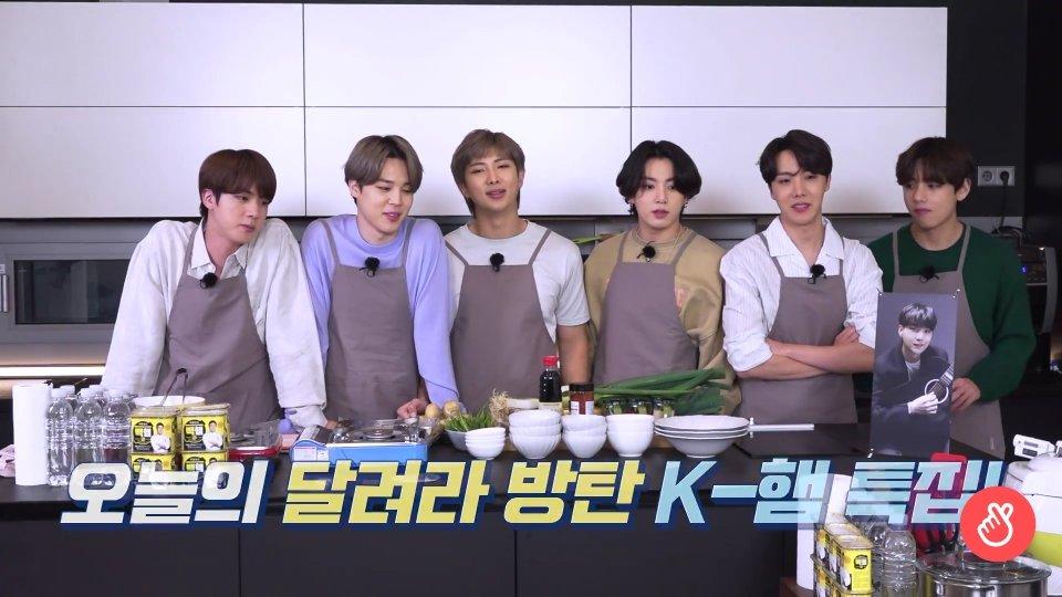 Ah todo el RUN fue muy divertido !!!   Me alegra ver que se diviertan 😀  Responde: en que equipo estarías?? En el de JIN o el de jungkook ?? 🍴🍚 #BTS #ARMY #BTSRun #KimNamjoon #KIMSEOKJIN #MinYoongi #JungHoseok #ParkJimin #KimTaehyun #jeonjungkook