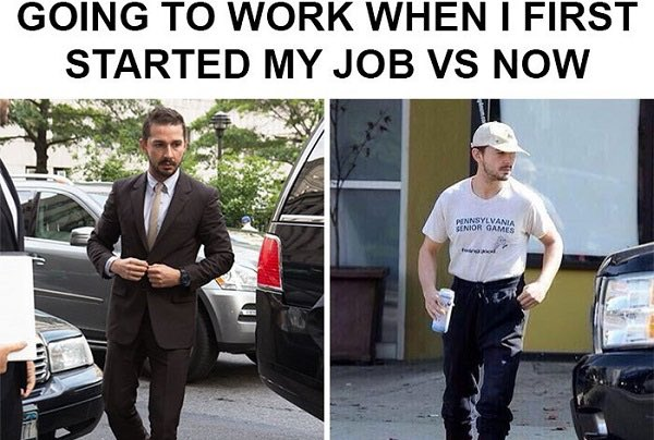 This shouldn't hit so close to home... #work #DRESSCODE2021
