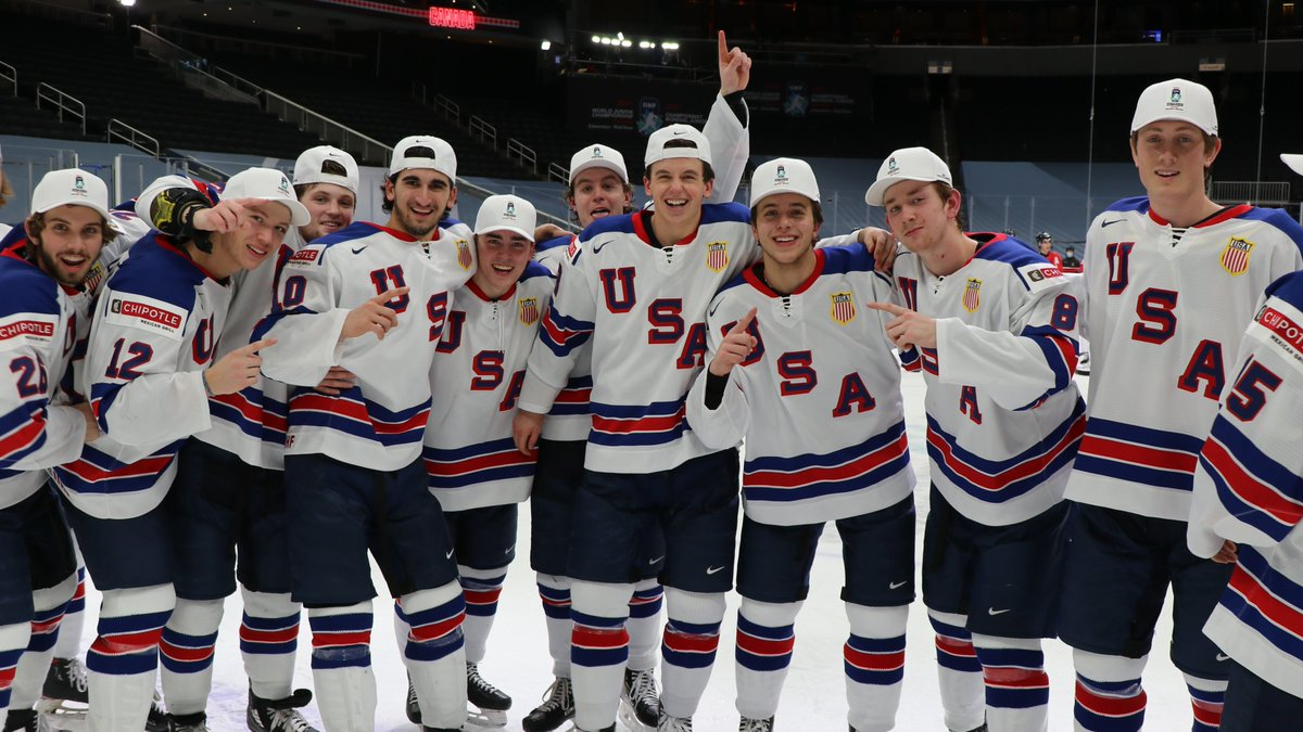🚨 1960 JERSEYS FOR SALE! 🚨  Rock the same threads as the 2021 #WorldJuniors champs! 🥇  Order yours today! →