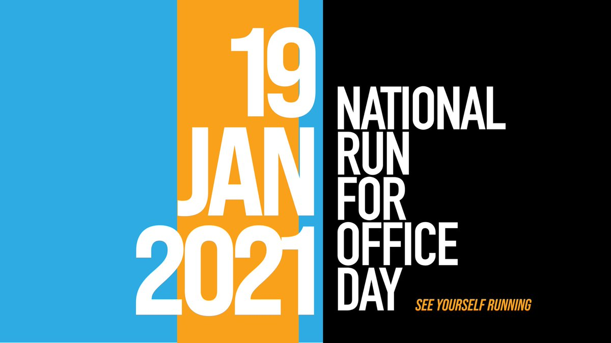 Calling all #Hoosiers!! It's #NationalRunforOfficeDay! If you've thought about running for your local City Council, County Clerk, School Board ➡️make sure to sign up with @runforsomething today. They helped me in my run and the support system is incredible.   YOU CAN DO THIS!!