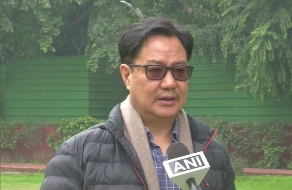 Union Sports Minister Kiren Rijiju given additional charge of Ministry of AYUSH during the hospitalisation and treatment of Union Minister Shripad Y Naik following a road accident. @KirenRijiju https://t.co/cutuphyJ35