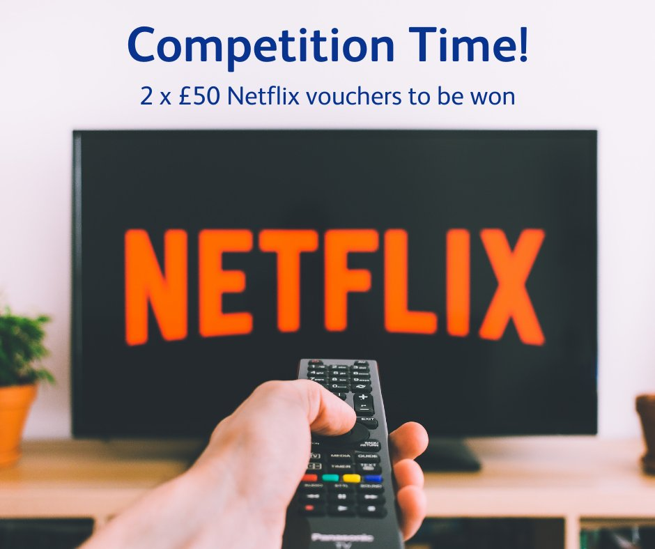 SIT BACK & RELAX, IT'S #COMPETITION TIME What better way to spend a cold winter's night after a busy day, than to cosy up on the sofa in front of the TV. To #win one of 2 £50 @netflix vouchers, simply tell us what you're currently watching. Full T&Cs
