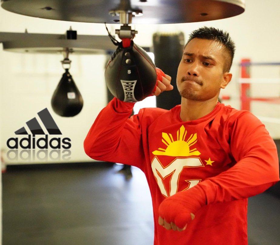 Don't limit yourself.  Push through with focus and determination!!  #StayingReady #ReadyForSport #AdidasBoxing #GoldenBoyBoxing  #HereToCreate #Boxing #MercitoGesta  @cs_adidas @adidas @mrboxingguru @chrisdessalles @GoldenBoyBoxing @WildCardBoxing1   🎥: @NeilMacasadia