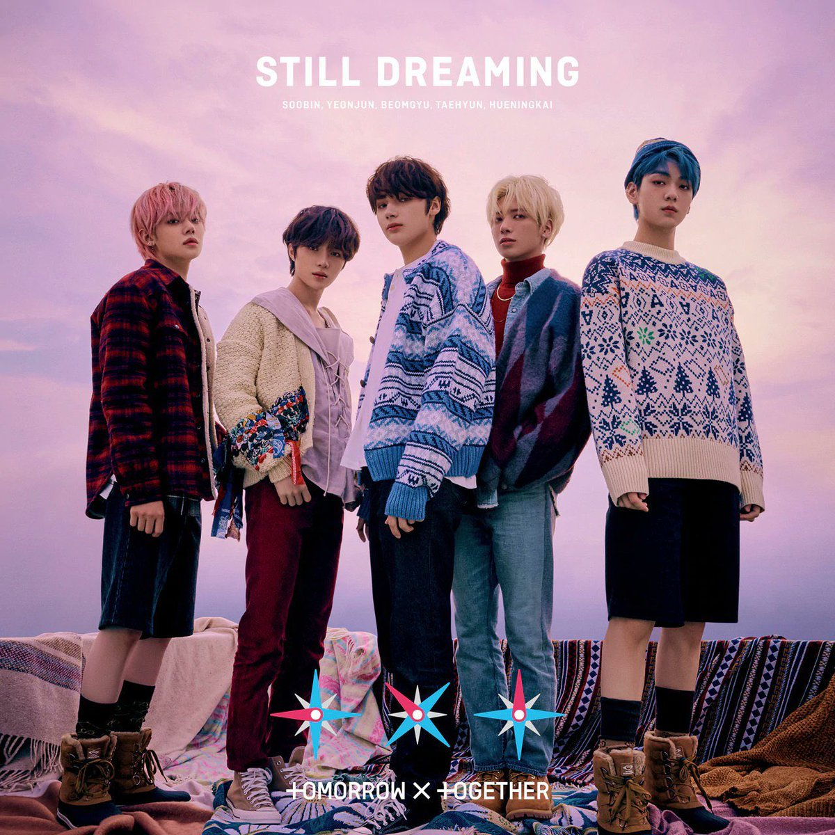 TXT 1st full Japanese album is out now💙☺️ #STILL_DREAMING #STILLDREAMINGwithtxt #StillDreamingOutNow #TXT @TXT_members